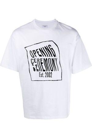 Opening Ceremony Warped-logo T-shirt