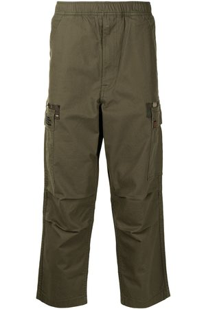 AAPE BY A BATHING APE Camouflage panel cargo trousers