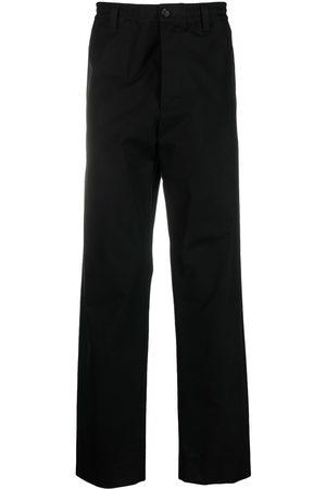Marni Homem Calças - Straight-leg cotton trousers