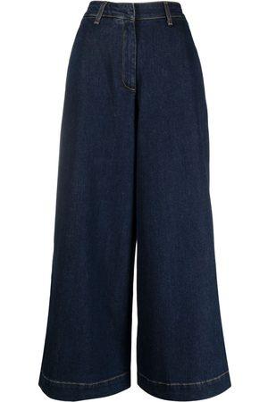 L'Autre Chose Wide-leg denim trousers
