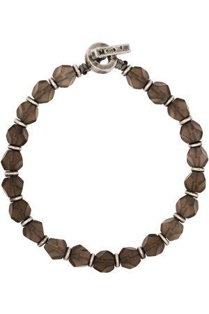 M. COHEN Homem Pulseiras - The Axiom beaded bracelet