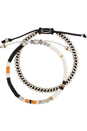 M. COHEN Homem Pulseiras - Set of 2 beaded bracelets
