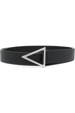 Bottega Veneta Homem Cintos - V leather belt