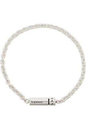 Le Gramme Homem Pulseiras - Le 89g polished cable chain bracelet