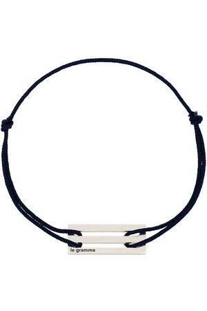 Le Gramme Homem Pulseiras - Sterling Le 2.5g cord bracelet