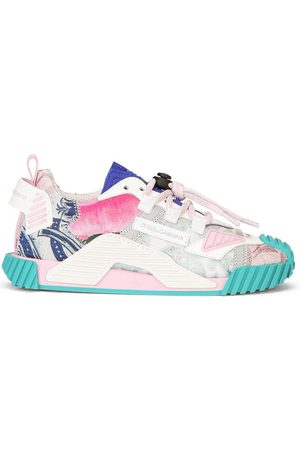 Dolce & Gabbana Multi-print sneakers