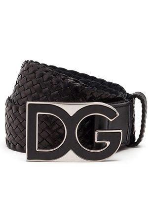 Dolce & Gabbana Homem Cintos - DG buckle interwoven belt