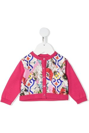 Dolce & Gabbana Bebé Cardigans - Floral-print cardigan