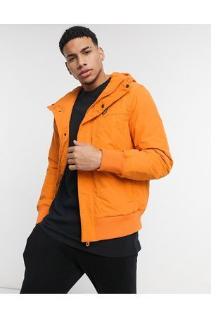 Lyle & Scott Winter weight bomber jacket-Orange