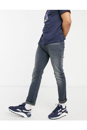 Tommy Hilfiger Scanton slim fit jeans in aspen dark wash-Blue