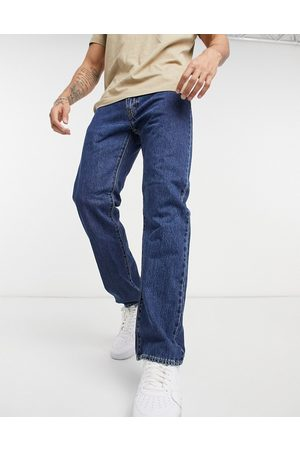 Levi's Levi's 551z authentic straight fit jeans in rubber worm dark indigo wash-Blue