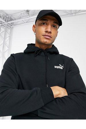 PUMA Essentials small logo hoodie in black