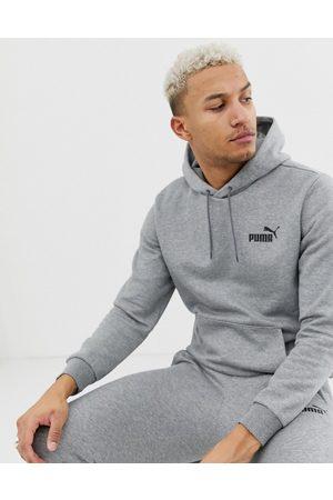 PUMA Essentials small logo hoodie in grey