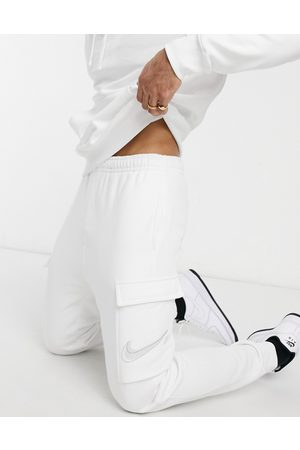 Nike Court cargo joggers in white