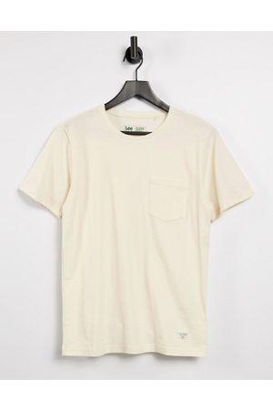 Lee Sustainable t-shirt in ecru-Cream
