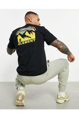 Element Foxwood t-shirt in black
