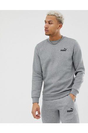 PUMA Essentials small logo sweatshirt in grey