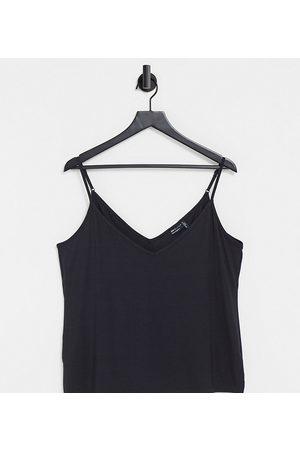 ASOS ASOS DESIGN Curve ultimate cami with v-neck in black