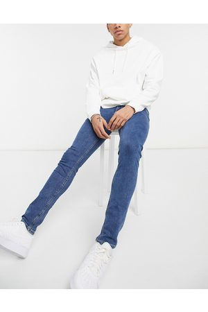 Jack & Jones Liam straight jeans in denim blue