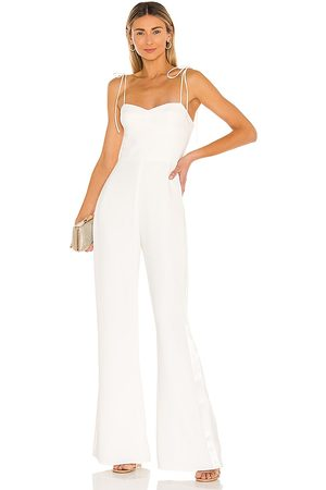 Amanda Uprichard Champagne Jumpsuit in - . Size L (also in S).