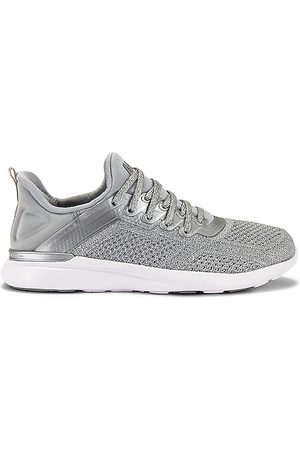 APL Athletic Propulsion Labs TechLoom Tracer Sneaker in - Metallic Silver. Size 10 (also in 5.5, 6, 6.5, 7, 7.5, 8, 8.5, 9, 9