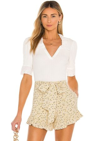 Free People Roxy Top in - Ivory. Size L (also in S, M).