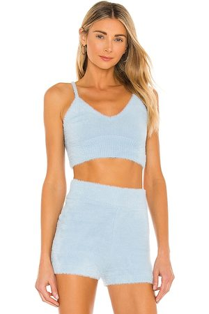 L*Space Daydreamin Top in - Baby Blue. Size L (also in S, XS, M).