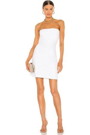 Susana Monaco Strapless Tube Mini Dress in - White. Size L (also in XS, S, M).