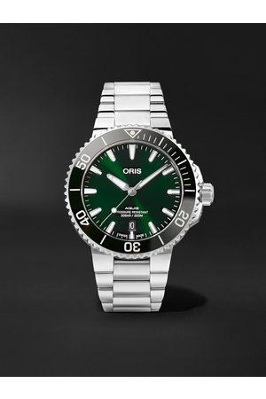 Oris Homem Relógios - Aquis Date Automatic 41.5mm Stainless Steel Watch, Ref. No. 01 733 7766 4157-07 8 22 05PEB