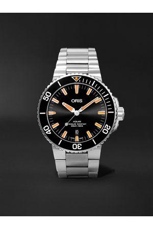 Oris Homem Relógios - Aquis Date Automatic 43.5mm Stainless Steel Watch, Ref. No. 01 733 7730 4159-07 8 24 05PEB