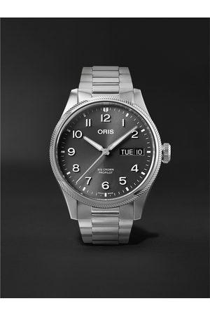 Oris Homem Relógios - Big Crown ProPilot Big Day Date Automatic 44mm Stainless Steel Watch, Ref. No. 01 752 7760 4063-07 8 22 08P