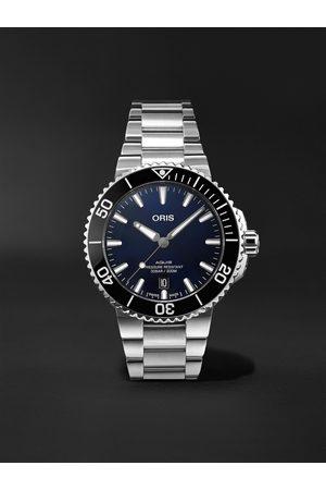 Oris Homem Relógios - Aquis Date Automatic 41.5mm Stainless Steel Watch, Ref. No. 01 733 7766 4135-07 8 22 05PEB