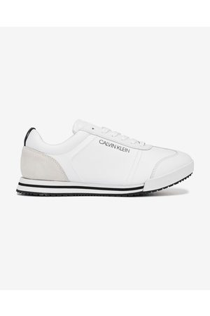 Calvin Klein Low Profile Lace up Sneakers White