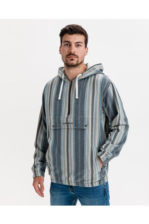 Quiksilver Homem Casacos - Neo Blue Twill Jacket Blue