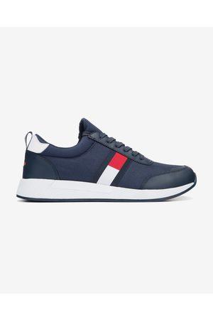 Tommy Hilfiger Homem Ténis - Flexi Lycra Runner Sneakers Blue