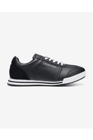 Calvin Klein Low Profile Lace up Sneakers Black