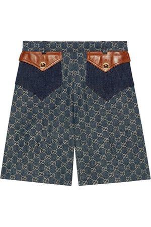 Gucci Eco washed denim shorts