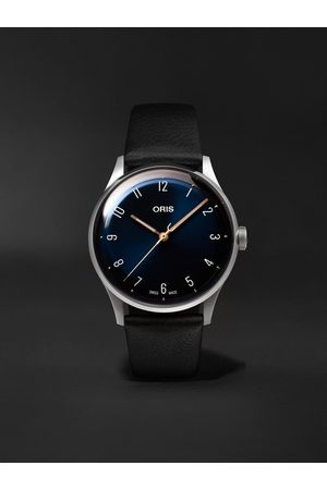 Oris Homem Relógios - James Morrison Academy of Music Limited Edition Automatic 38mm Stainless Steel and Leather Watch, Ref. No. 01 733 7762 4085-Set