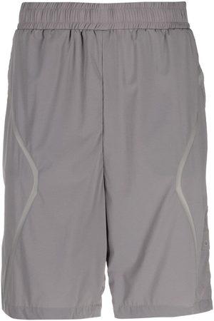 A-cold-wall* Taped-detail logo shorts