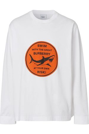 Burberry Shark-print T-shirt