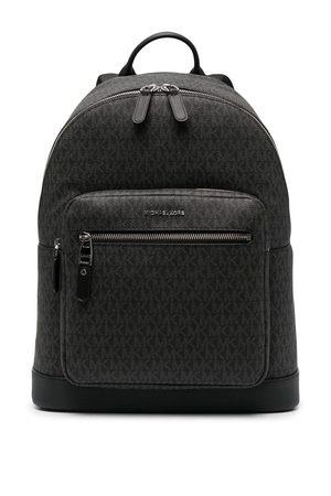 Michael Kors Hudson monogram leather backpack