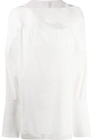 Rick Owens Long sleeved cocoon blouse