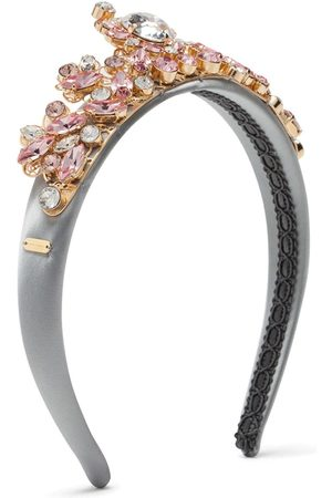 Dolce & Gabbana Crystal-embellished head band