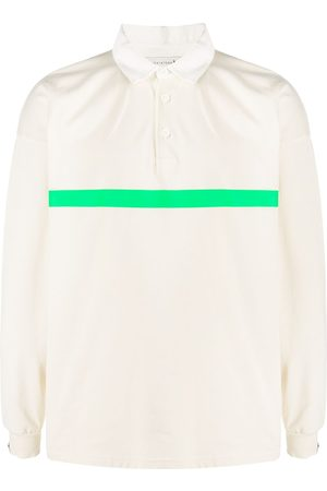 MACKINTOSH Contrast-stripe long-sleeve polo shirt