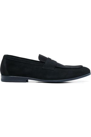 Doucal's Suede slip-on loafers