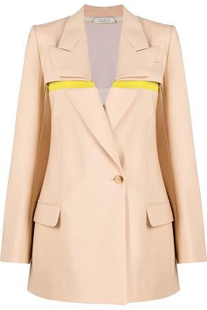 Nina Ricci Foldover-panel blazer
