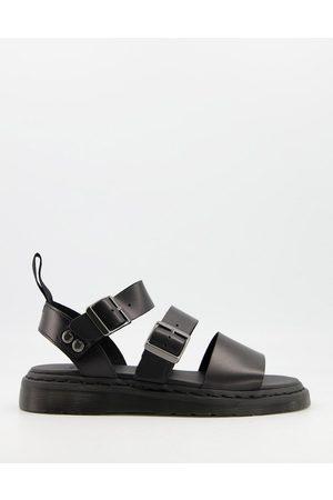Dr. Martens Gryphon strap sandals in black