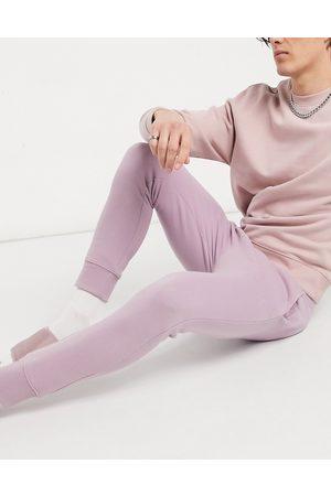 Topman Co-ord joggers in lilac-Purple