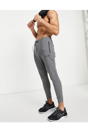 HIIT Training tech joggers in charcoal-Grey