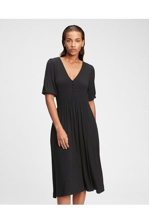 GAP Midi Dress Black